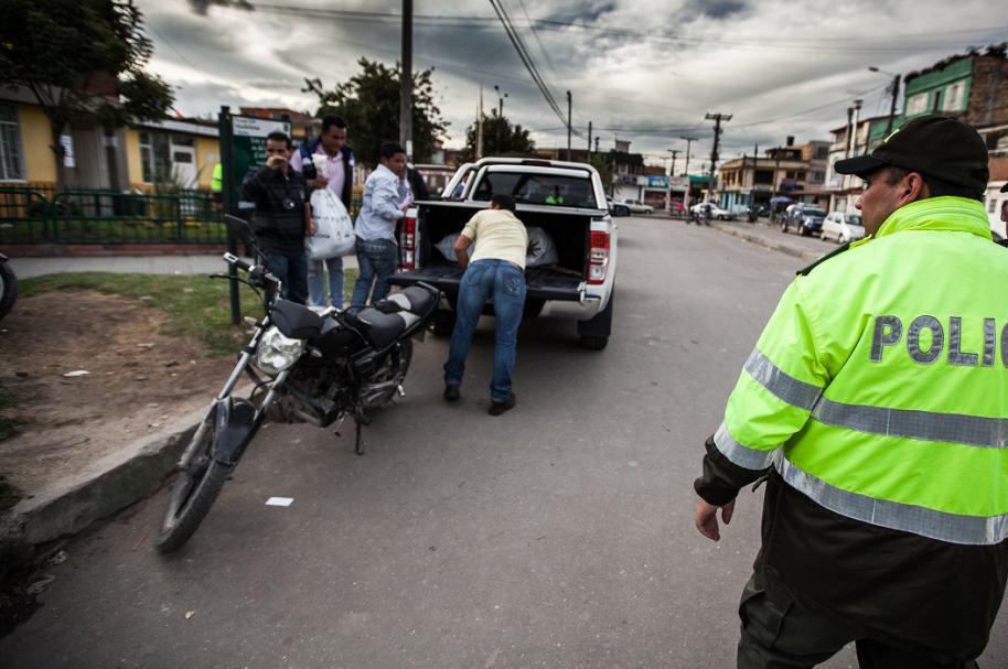 Policías, foto de referencia
