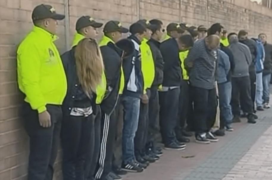 Ladrones acusados de robo a transportadores