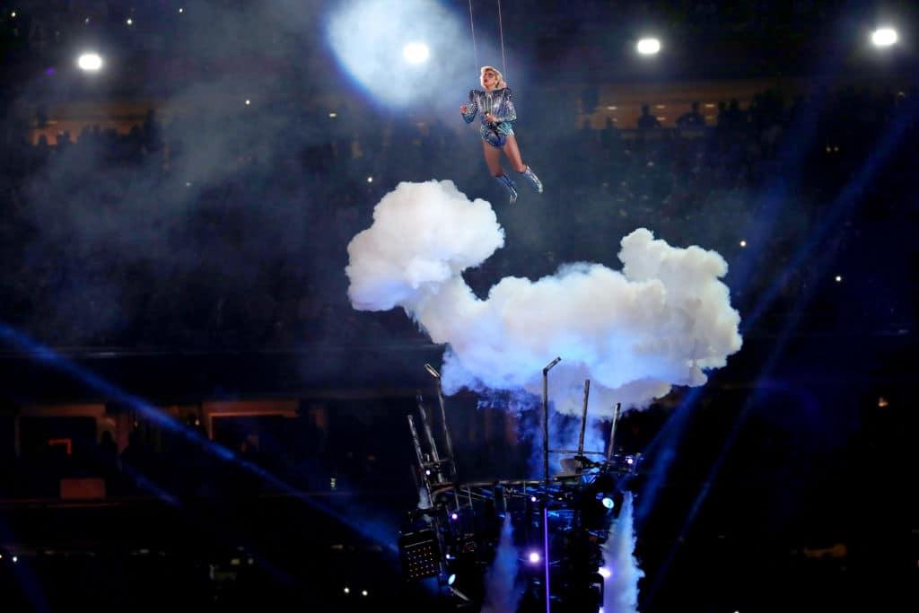 Presentación de Lady Gaga en el Super Bowl