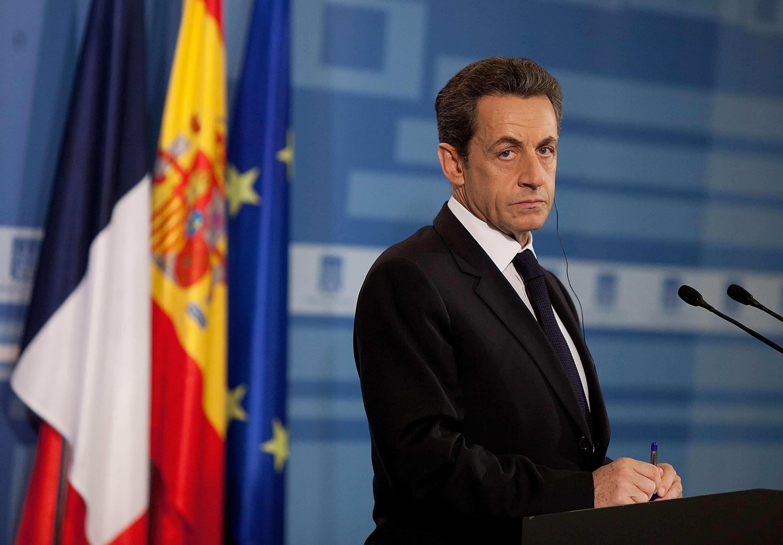 Expresidente de Francia Nicolas Sarkozy
