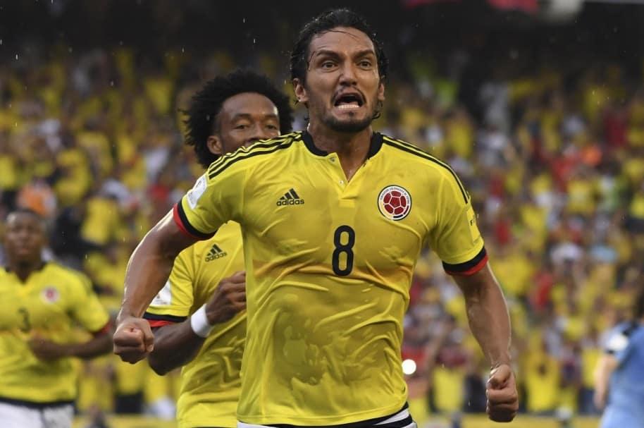 Abel Aguilar, jugador del Deportivo Cali y la Selección Colombia.