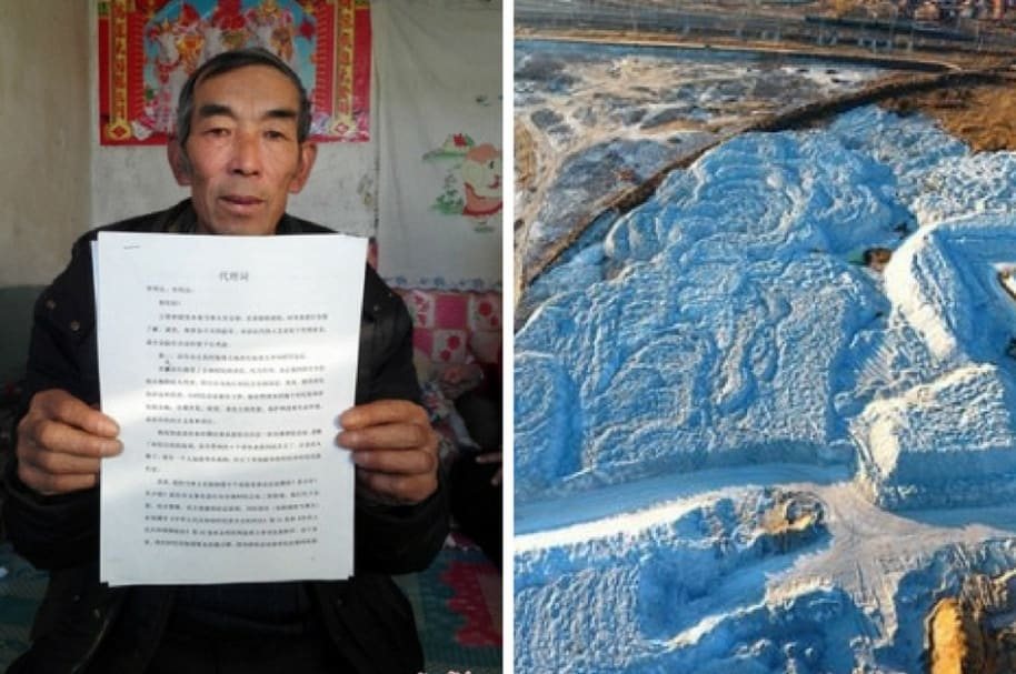 Wang Enlin y la zona contaminada