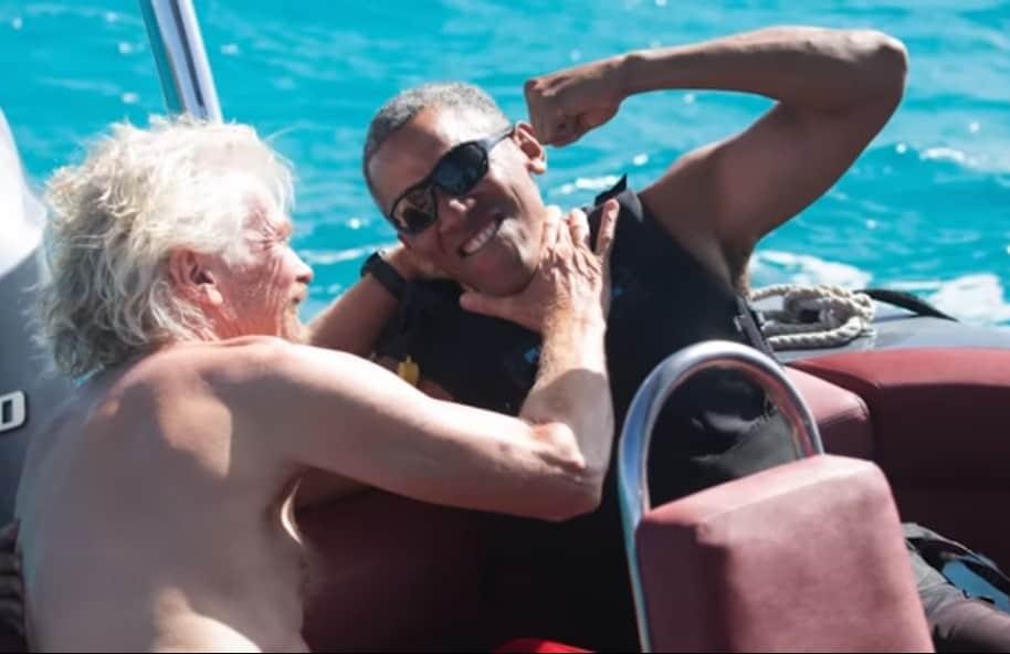Branson y Obama