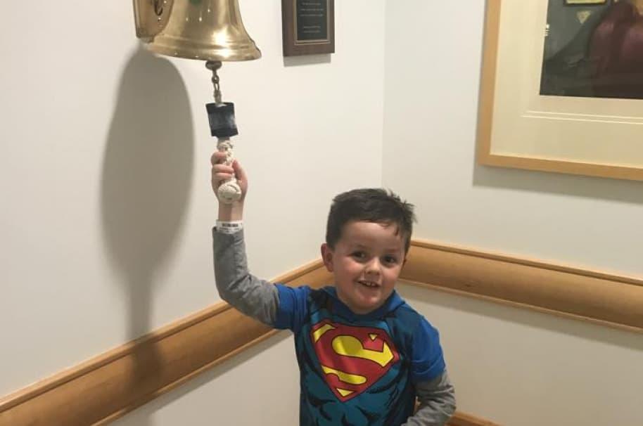 Jimmy Spagnolo, de 6 años. Pulzo.com.