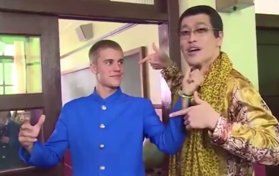 Justin Bieber y Piko Taro