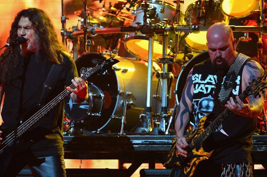 Tom Araya y Kerry King de la banda Slayer