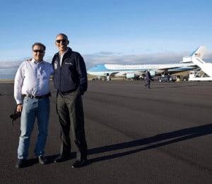Obama y Souza