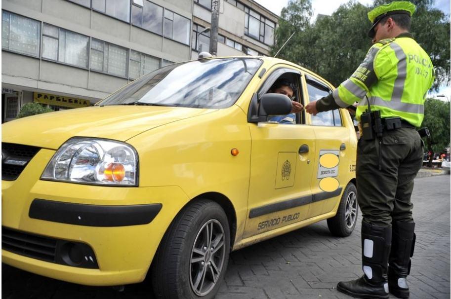 Taxista en Bogotá. Pulzo.com