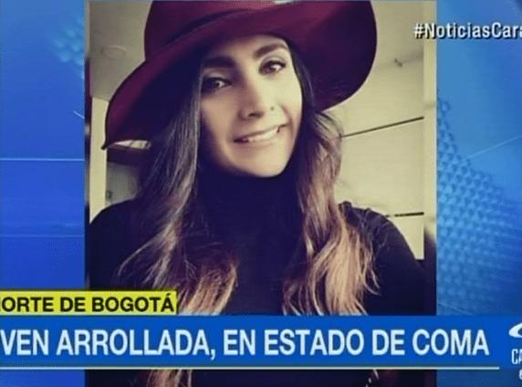 Alexa Cubillos, joven arrollada por conductor en andén de Bogotá. Pulzo.com