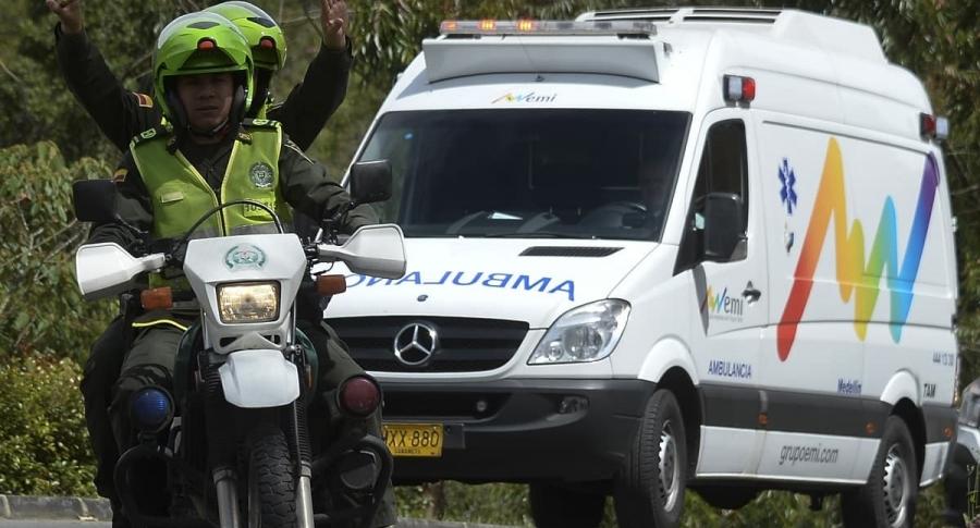 Ambulancia, referencia
