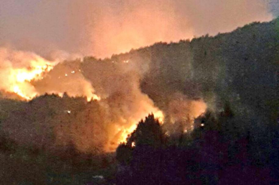 Incendio en Bello.