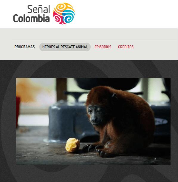 'Héroes al rescate animal' de Señal Colombia.