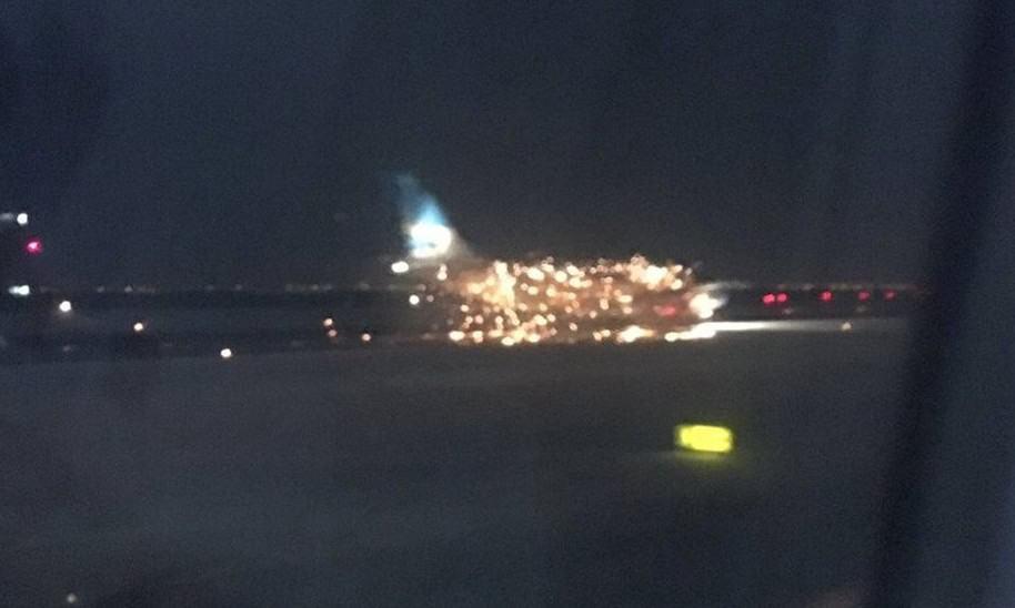 Incendio de avión en Nueva York