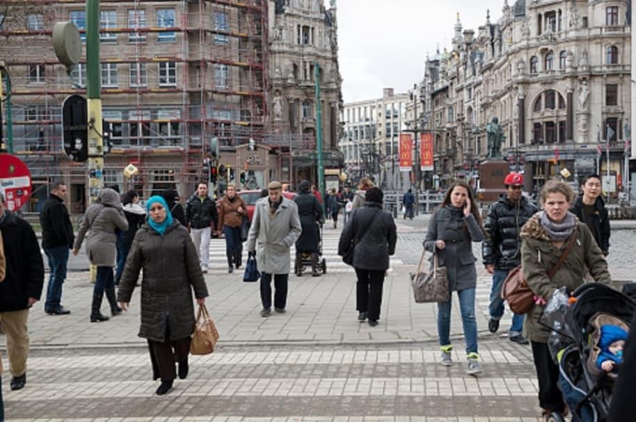 Extranjeros en Bélgica