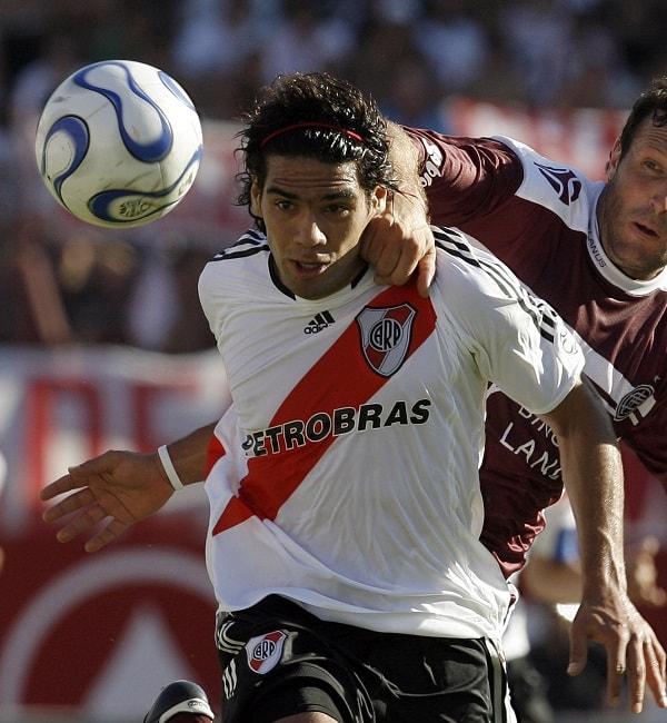 Falcao García en River Plate (2007).