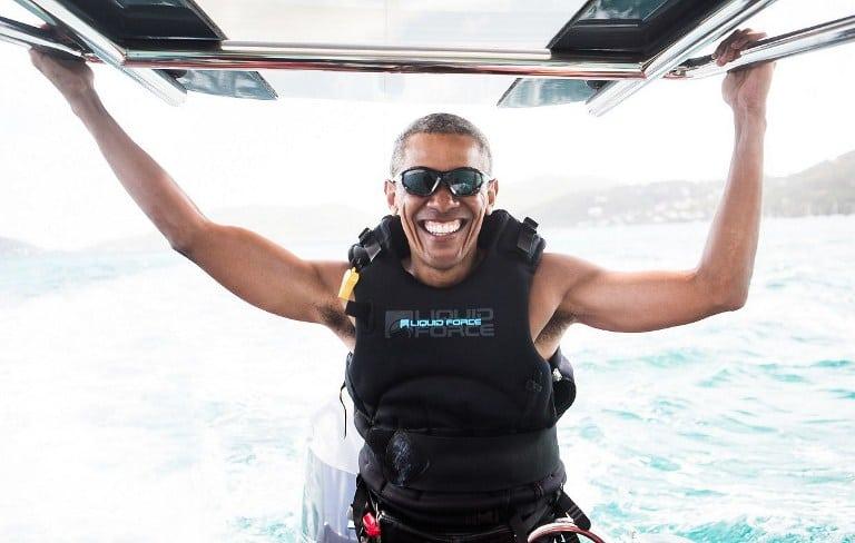 Obama de vacaciones. Pulzo.com