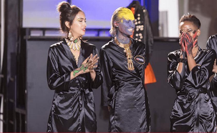 María Camilia Giraldo, Alejandra Merlano y Sasha Palma, finalistas de 'Colombia's next top model'.