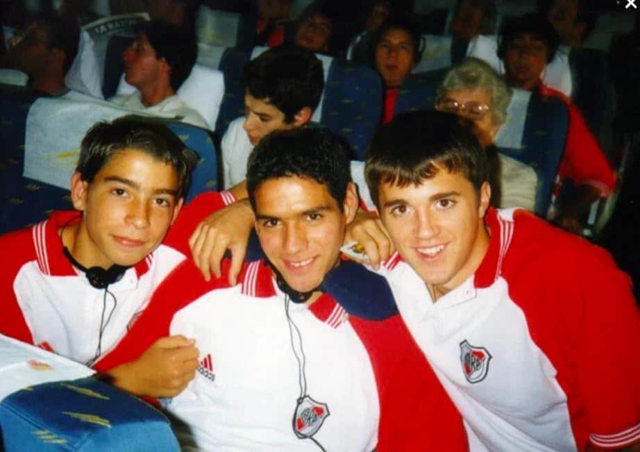 Falcao García en River Plate  cuando apenas tenía 15 años.
