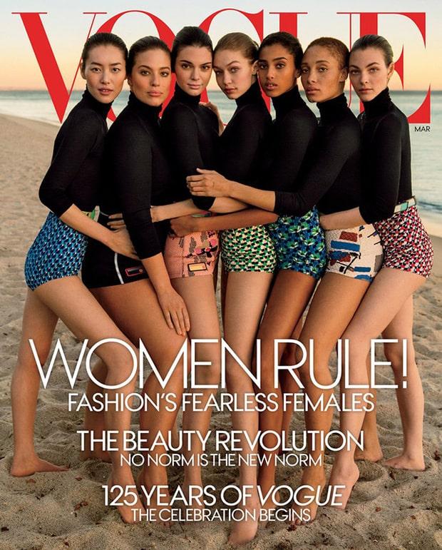 Portada de marzo de Vogue - Pulzo.com