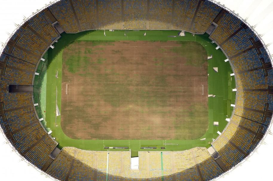 Estadio Maracaná, en estado de abandono