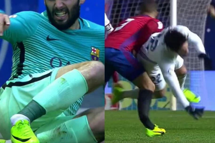 lesiones España