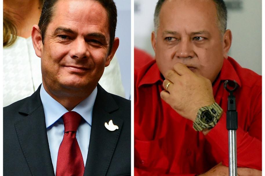Germán Vargas Lleras y Diosdado Cabello