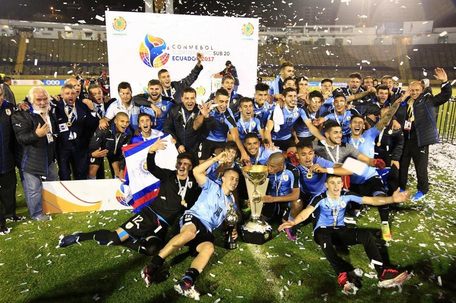 Uruguay ganó el último encuentro por el Suramericano Sub-20 Ecuador 2017