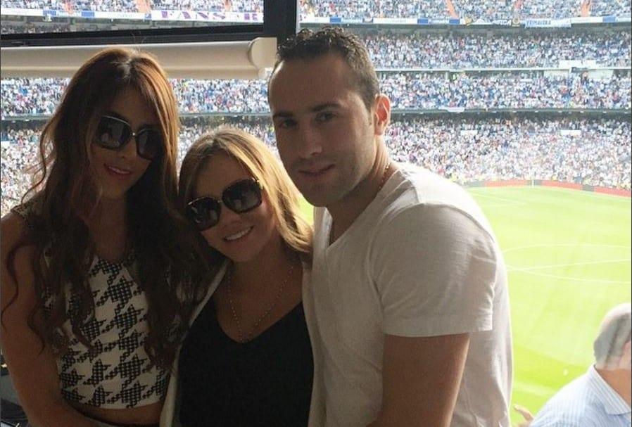 Daniela Ospina, Jéssica Sterling y David Ospina.