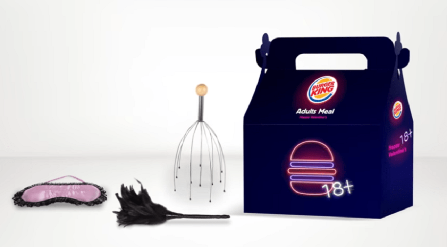 Caja sorpresa de Burger King para adultos