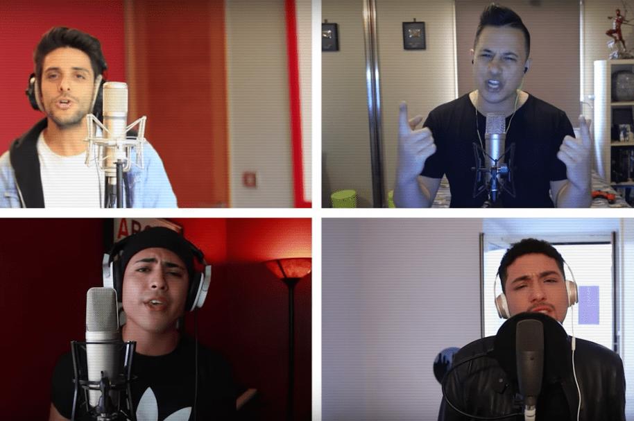 Sami, Jayden, Joey y Sheffo, integrantes de la banda Continuum. Pulzo.com