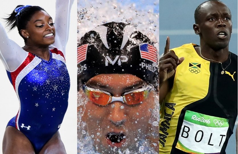 Biles Phelps Bolt