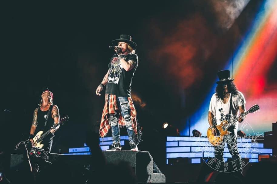Guns N' Roses. Pulzo.com.