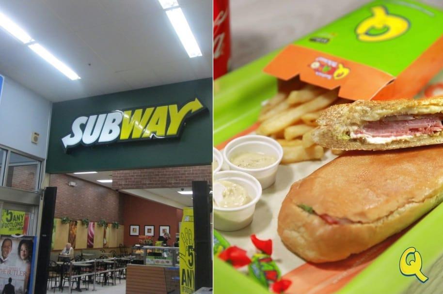 Subway y Qbano (Facebook)