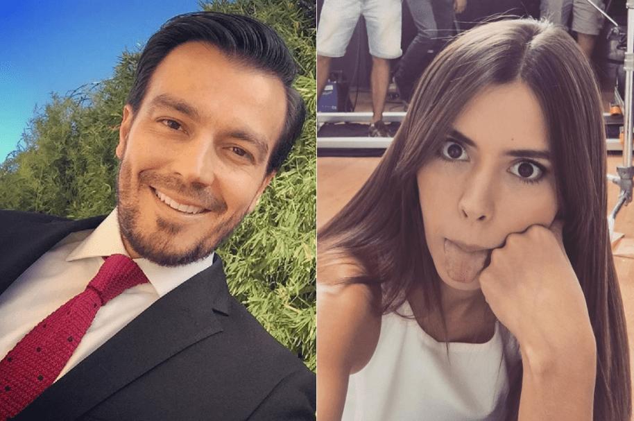 Luciano D'Alessandro, actor de 'La ley del corazón', y Paulina Vega, ex Miss Universo.