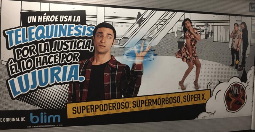 Exigen a Televisa retirar publicidad de serie 'Super X'