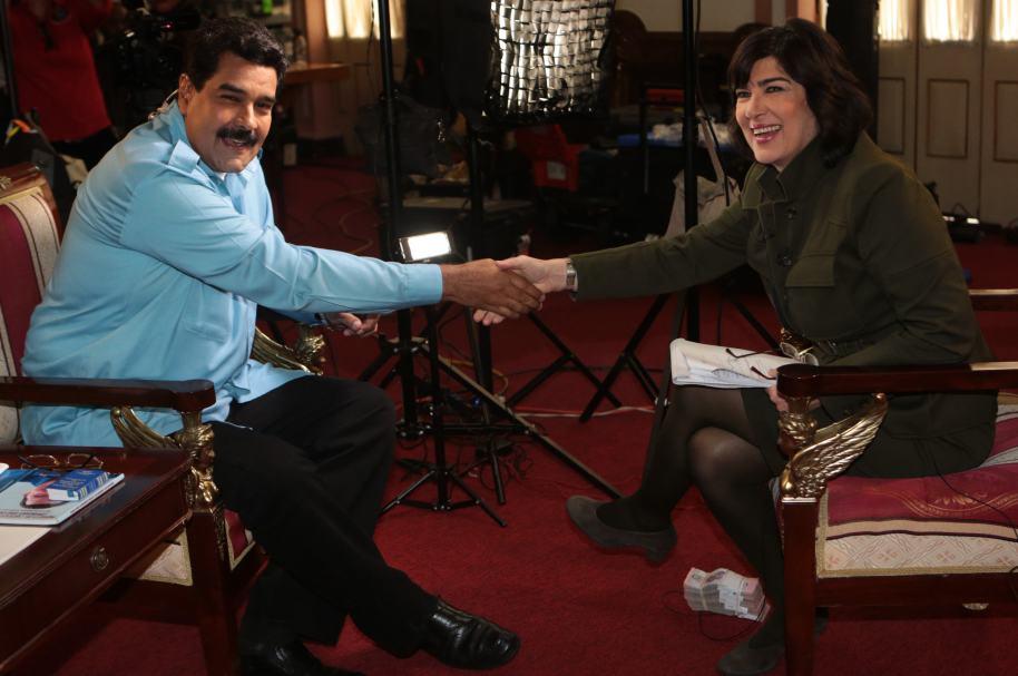 Maduro y CNN