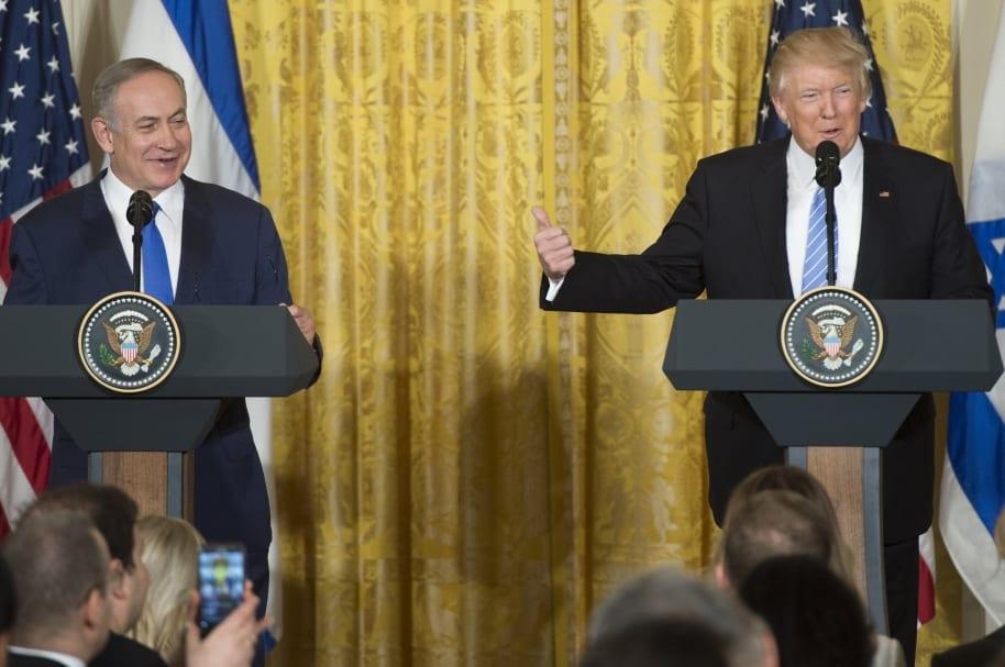 Trump deja sin piso creación de estado palestino