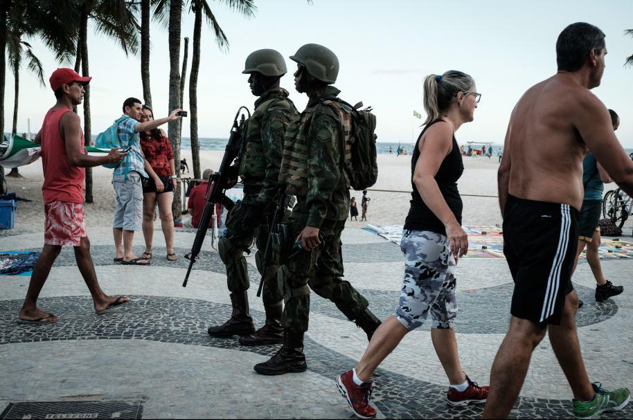 Seguridad en Río de Janeiro