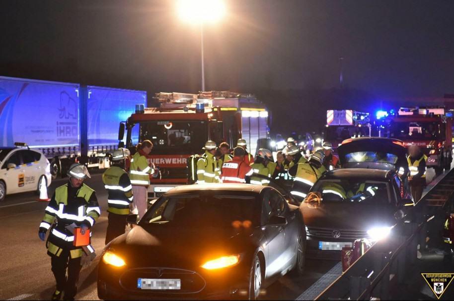 Accidente autopista Alemania
