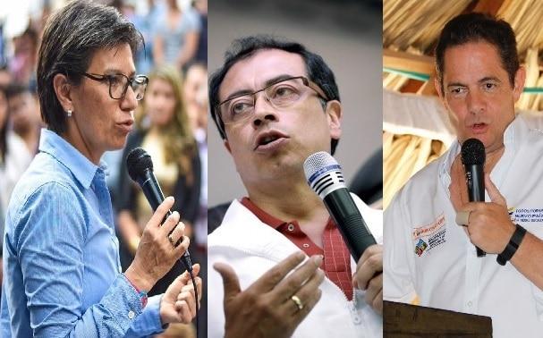 Políticos colombianos con más seguidores falsos en Twitter