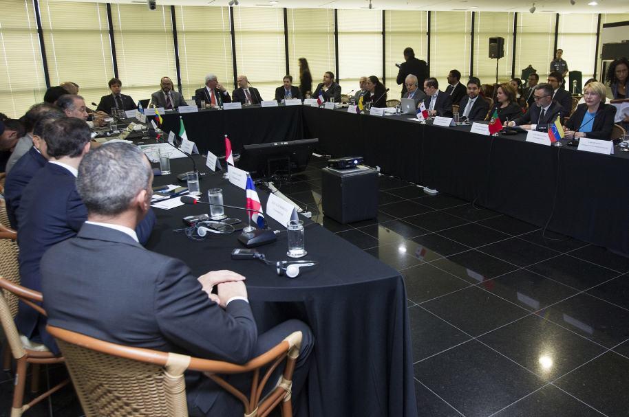 Reunión de fiscales de 11 países, en Brasilia.