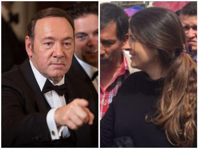 Kevin Spacey y Paloma Valencia