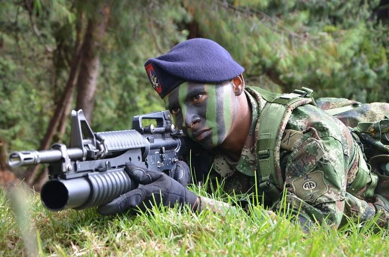Soldado del Ejército Nacional de Colombia. Pulzo.com
