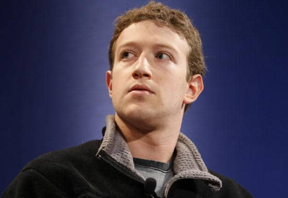 Mark Zuckerberg, CEO Facebook