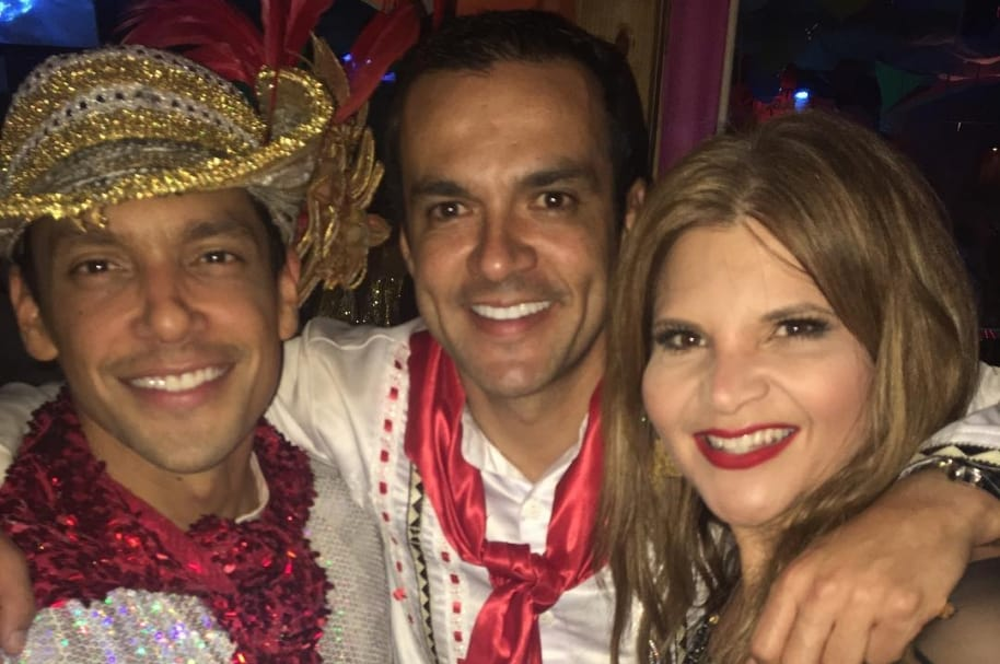 Karoll Márquez, Juan Diego Alvira y Diva Jessurum