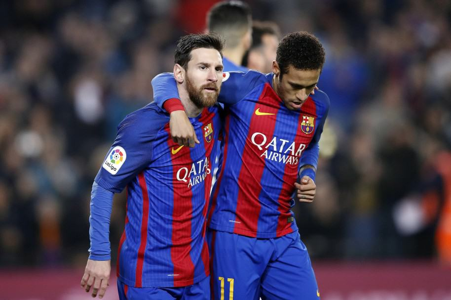 Lionel Messi y Neymar Barcelona