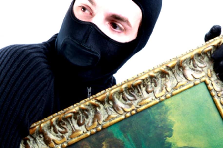 Ladrón de arte