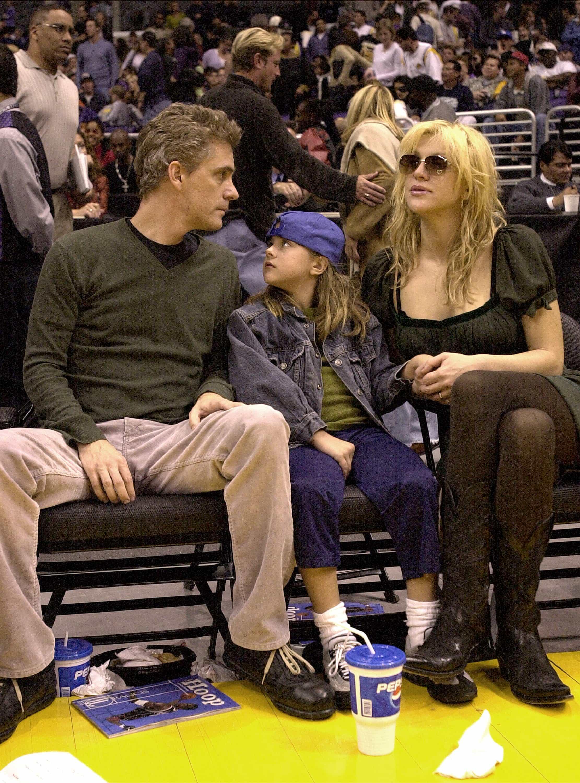 Frances Bean Cobain y su madre, Courtney Love