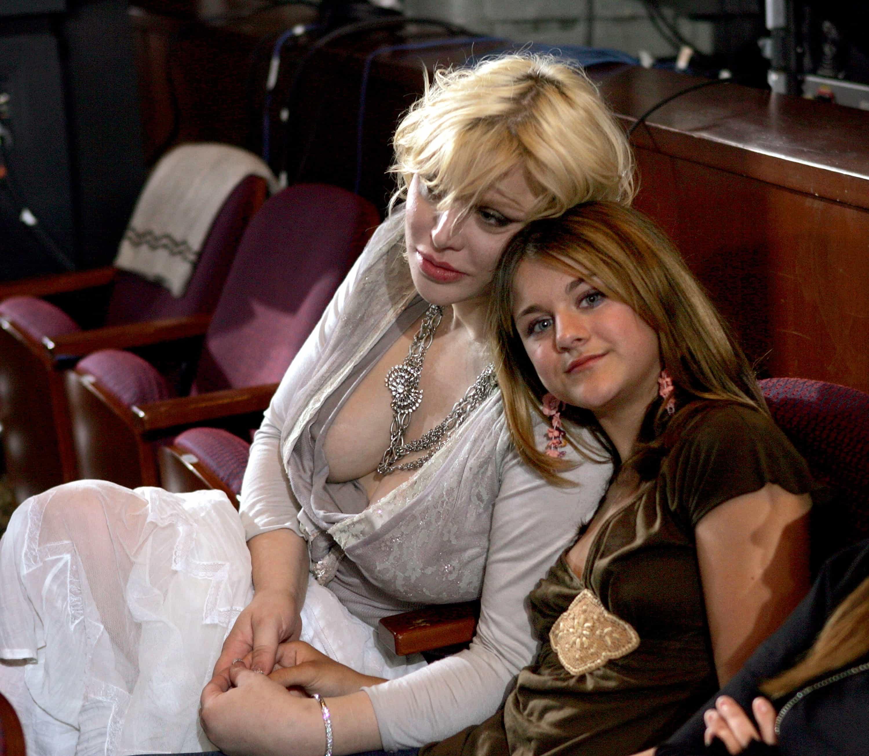 Courtney Love y su hija Frances Bean Cobain
