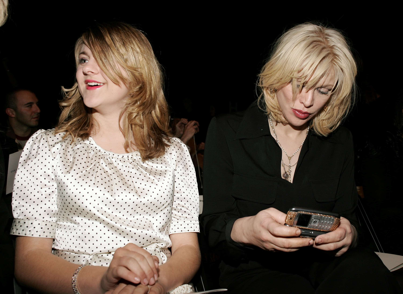 Frances Cobain y su madre, Courtney Love